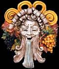 Maschera in Ceramica - Artigianato locale